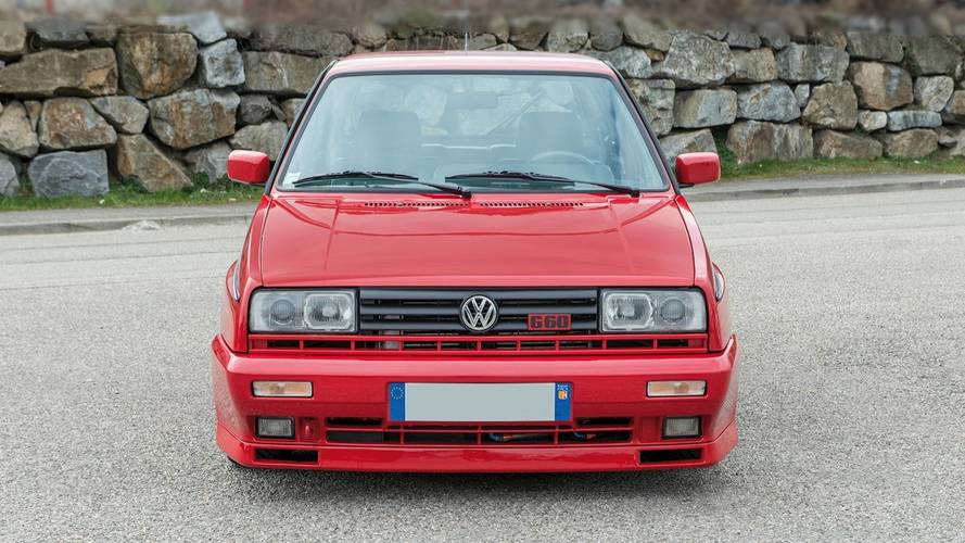 Volkswagen Golf Rallye (1989) vendue aux enchères