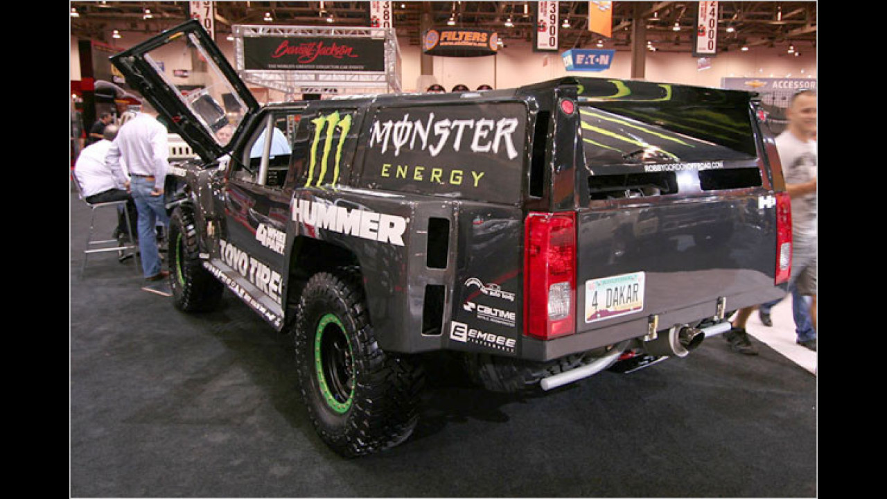 Hummer Robby Gordon Off-Road