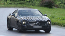 2013 Mercedes-Benz SL-Class prototype first spy photos 08.12.2009