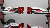 Scuderia Ferrari front wing detail - Formula 1 World Championship, Rd 12, Hungarian Grand Prix, Friday Practice, 30.07.2010 Budapest, Hungary