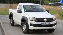 2011 VW Amarok single-cab spy photos 29.06.2010