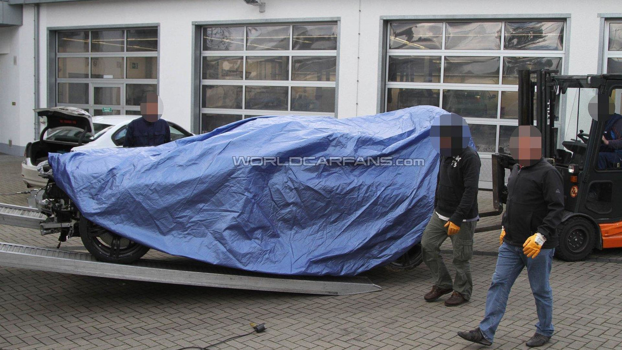 2012 BMW M6 prototype crashes on ring again 25.10.2011