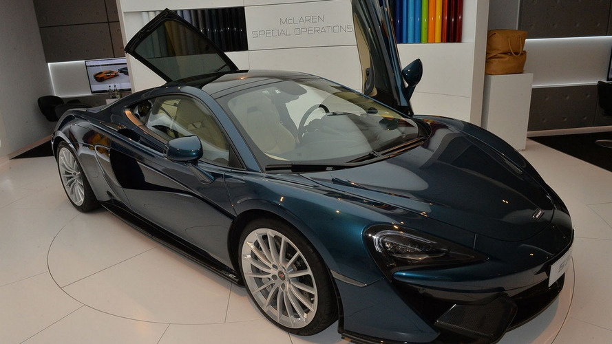 McLaren 570GT is the company's most luxurious model to date