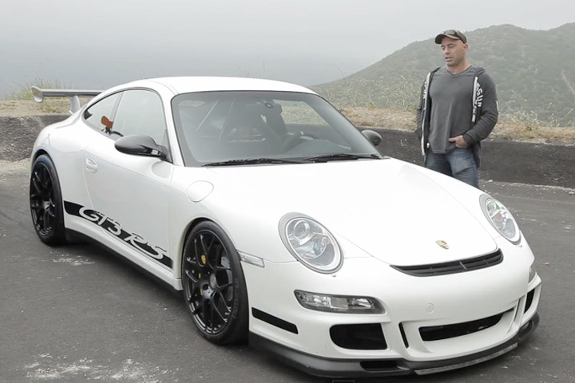 Joe Rogan's Sharkwerks Porsche GT3 RS is a 500HP Great White [Video]