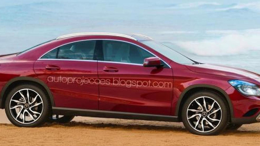 Mercedes GLB previews a CLA-based crossover