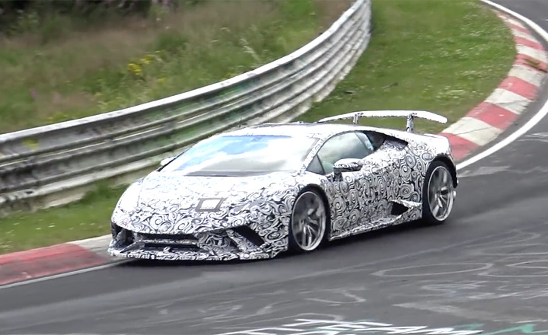 Could This Be the Latest Lamborghini Huracan Supercar?