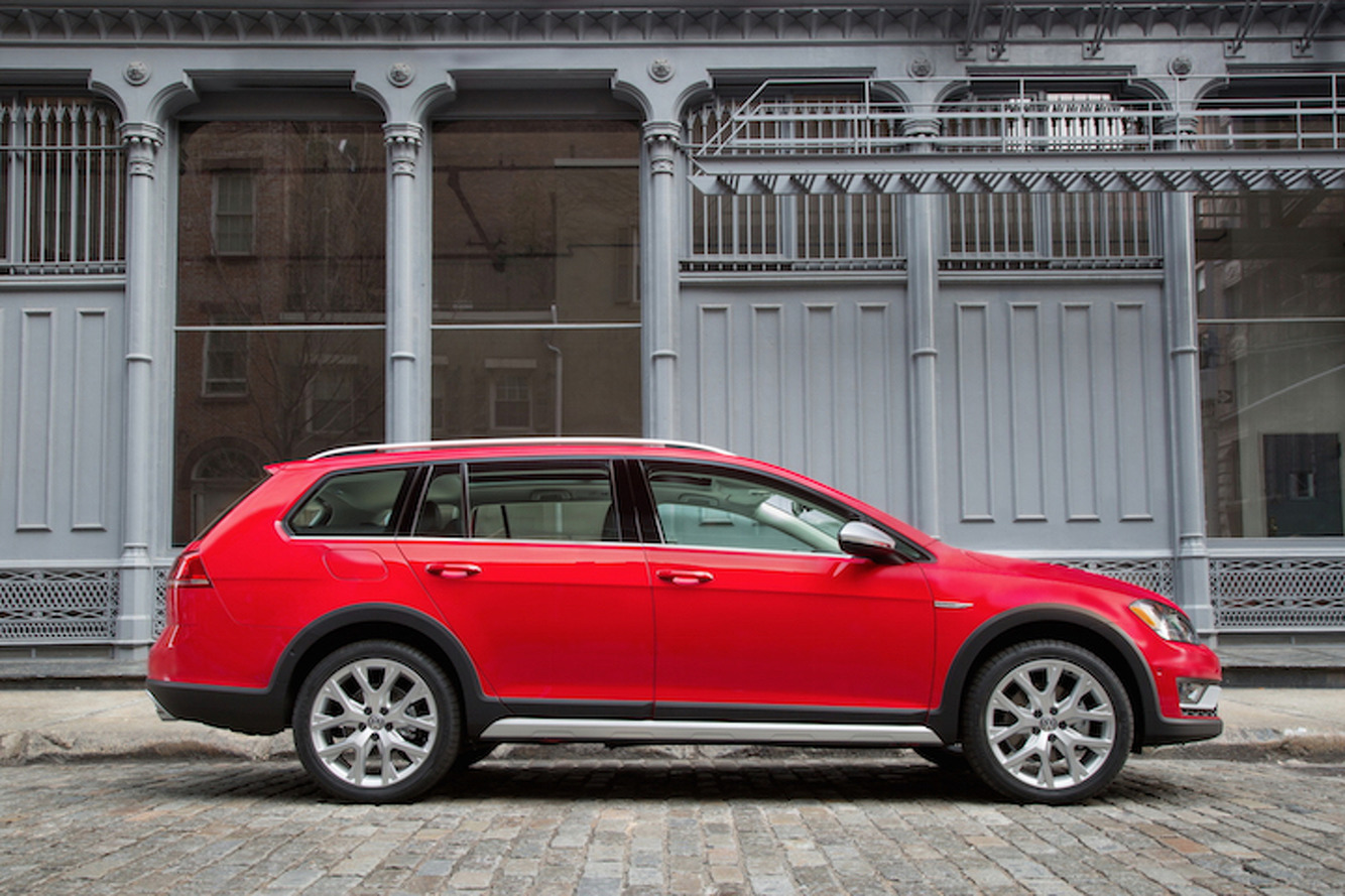 Volkswagen Looks To Make Amends With The Golf Alltrack
