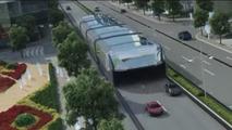 Straddling Bus