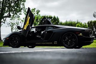 Lamborghini Batventador Preps for Gold Rush Rally