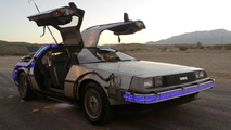 Authentic Back to the Future DeLorean on eBay