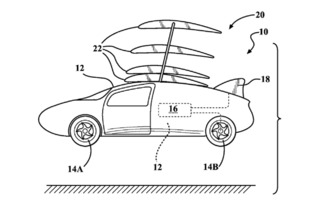 Toyota Patents a Flying Car, But Don't Get Your Hopes Up