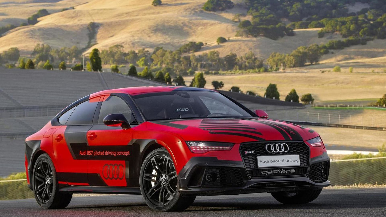 2015 Audi RS7 Piloted Driving konsepti