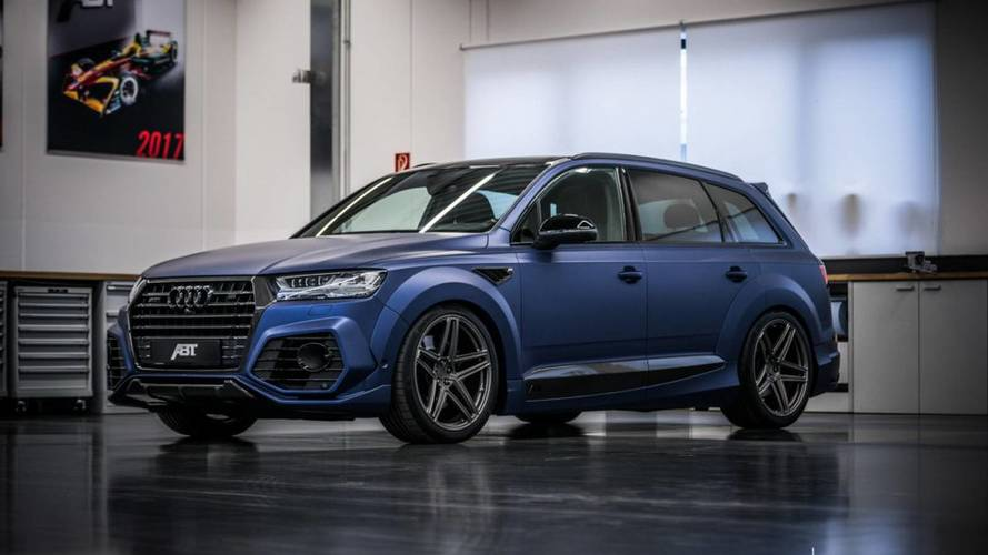 ABT modifiyeli Audi SQ7'ye bir göz atın