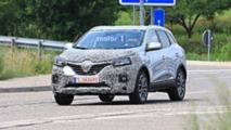 Makyajlı 2019 Renault Kadjar Yoğun Kamuflajlı Casus Fotoğrafları
