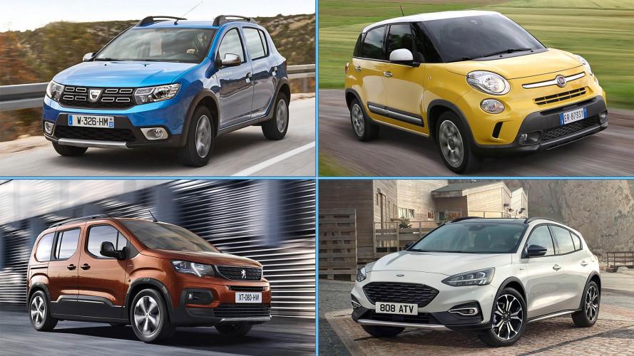 15 Autos, die gerne ein SUV wären