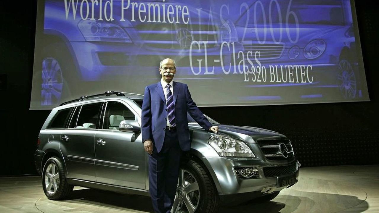 Daimler CEO Dieter Zetsche
