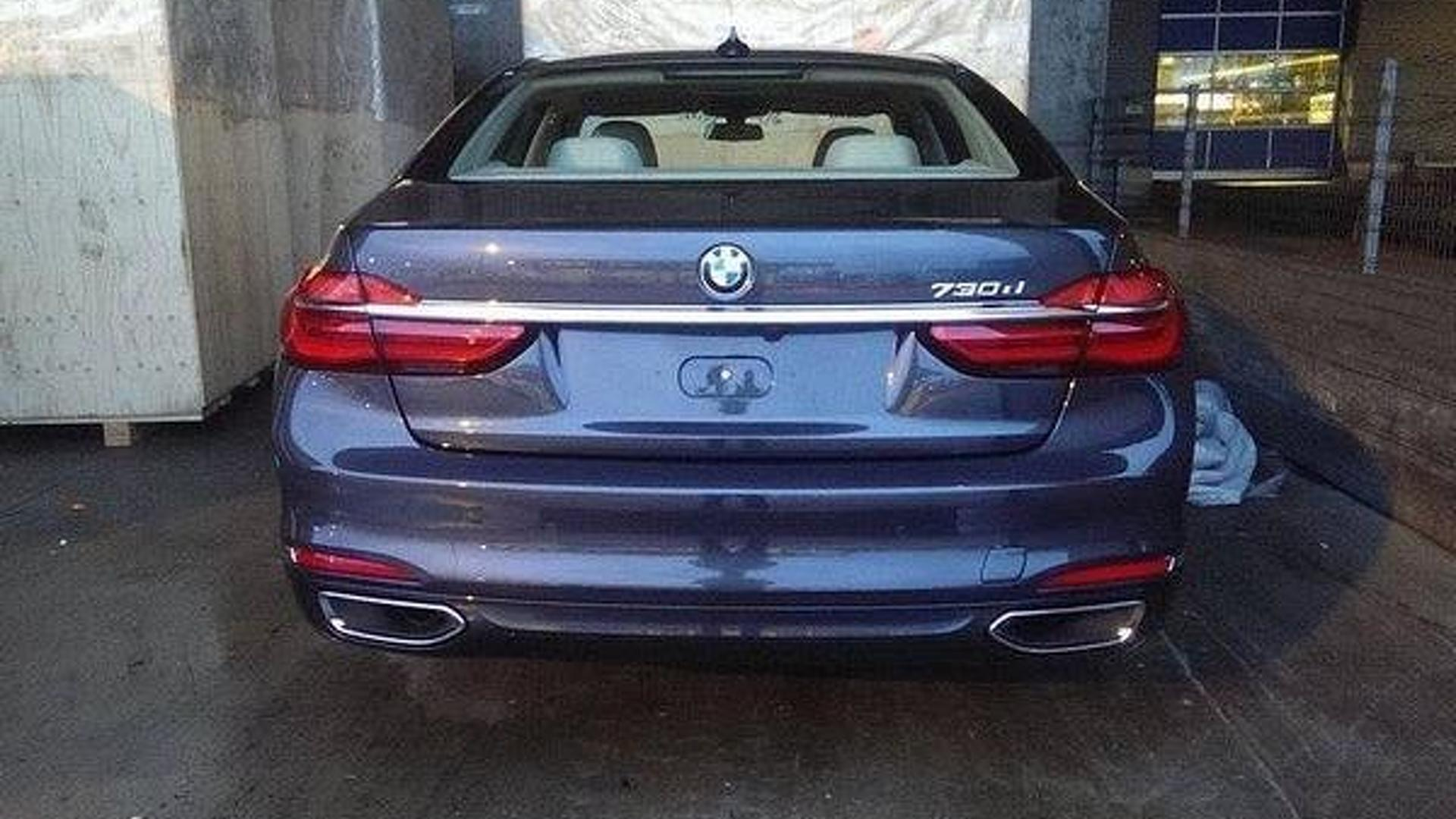2016 BMW 7 Series Getting Panorama Glass Roof Sky Lounge And Leather Engine Cover