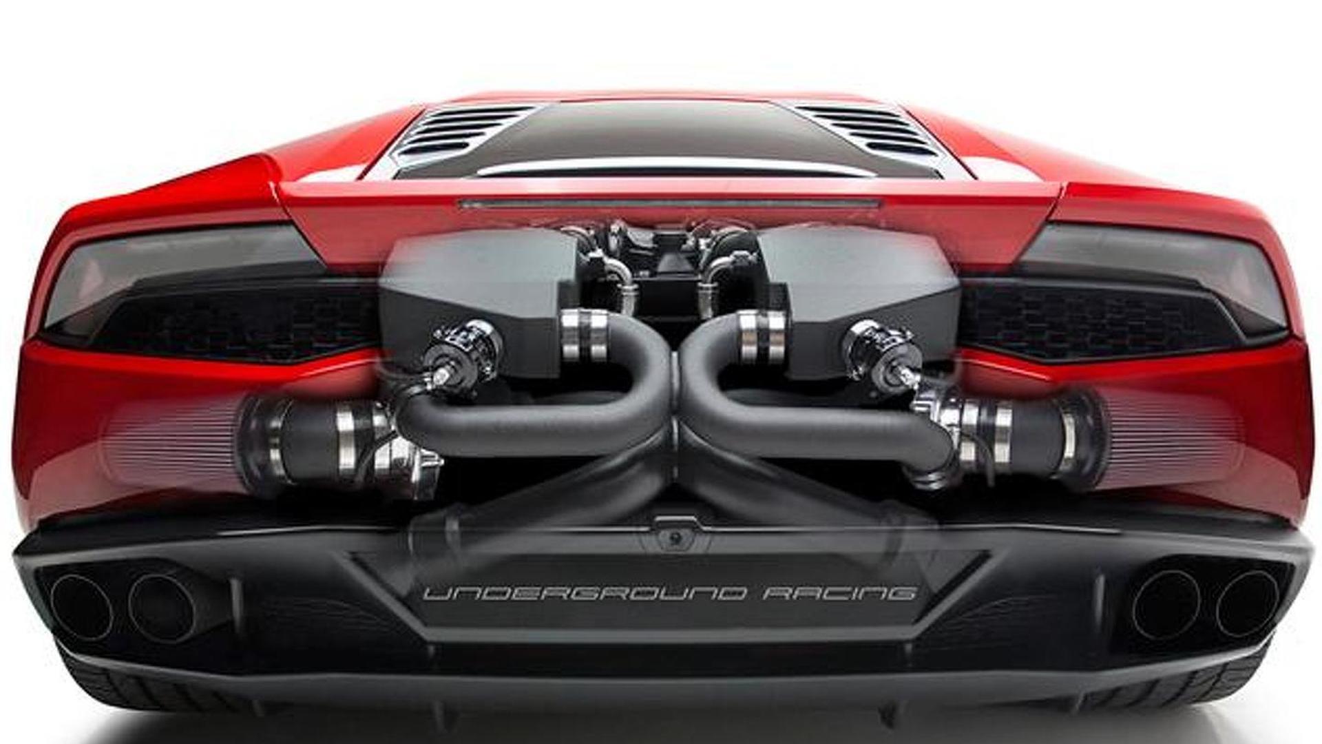 Тюнингованный Lamborghini Huracan от Underground Racing
