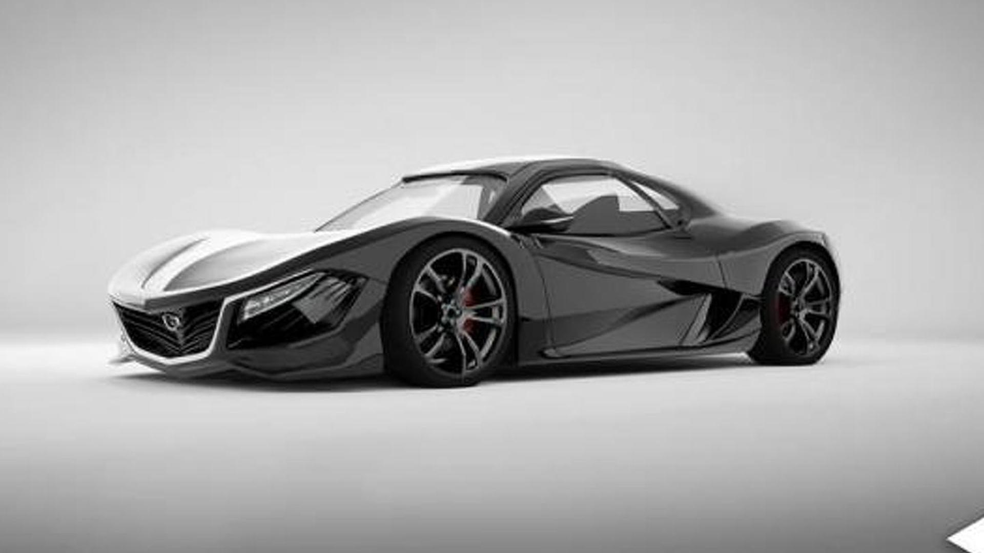 Rotary Powered 450 Bhp Mazda Rx 9 Concept Allegedly Coming