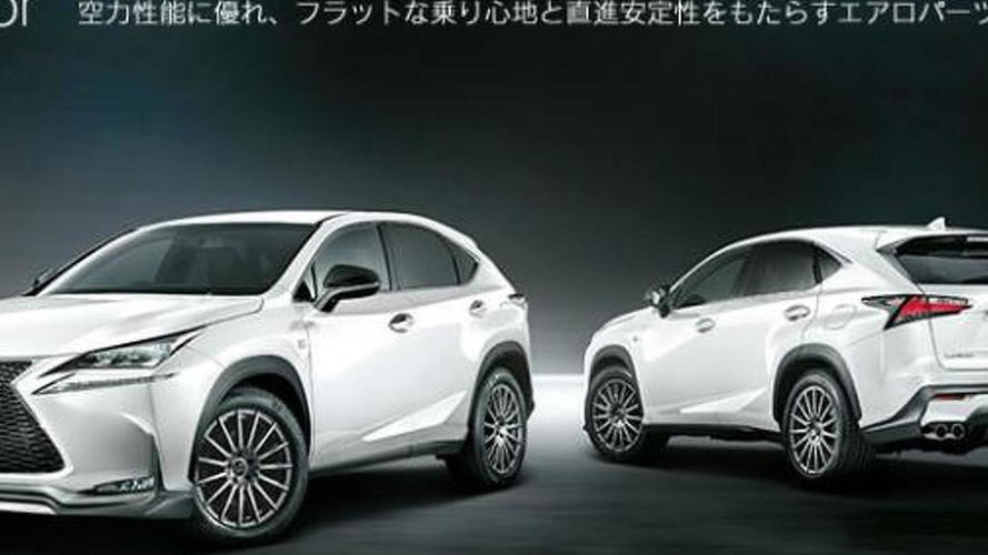 Lexus NX gains TRD styling accessories in Japan
