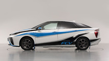 Toyota FCV rally car