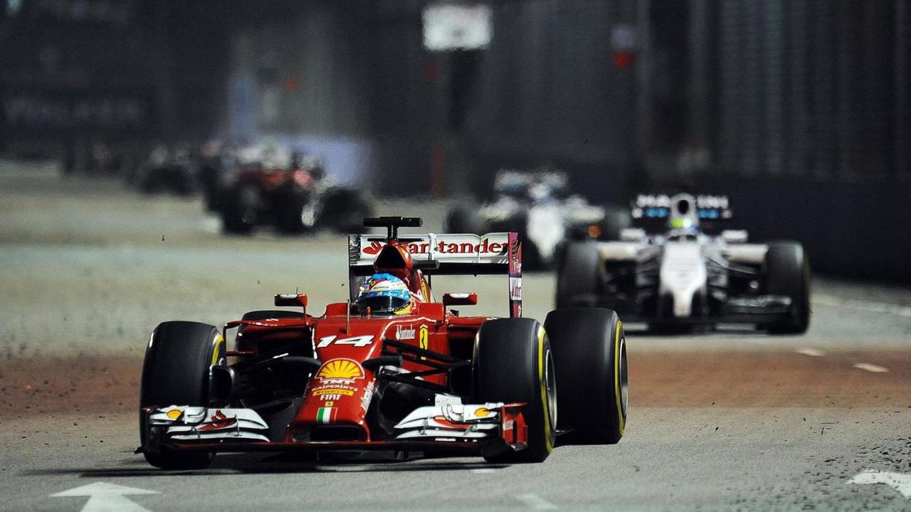 Fernando Alonso (ESP), 21.09.2014, Singapore Grand Prix, Singapore / XPB