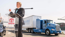 Toyota Project Portal hydrogen-powered semi