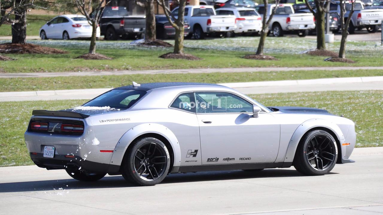 Dodge Challenger SRT Demon Spy Pics photo