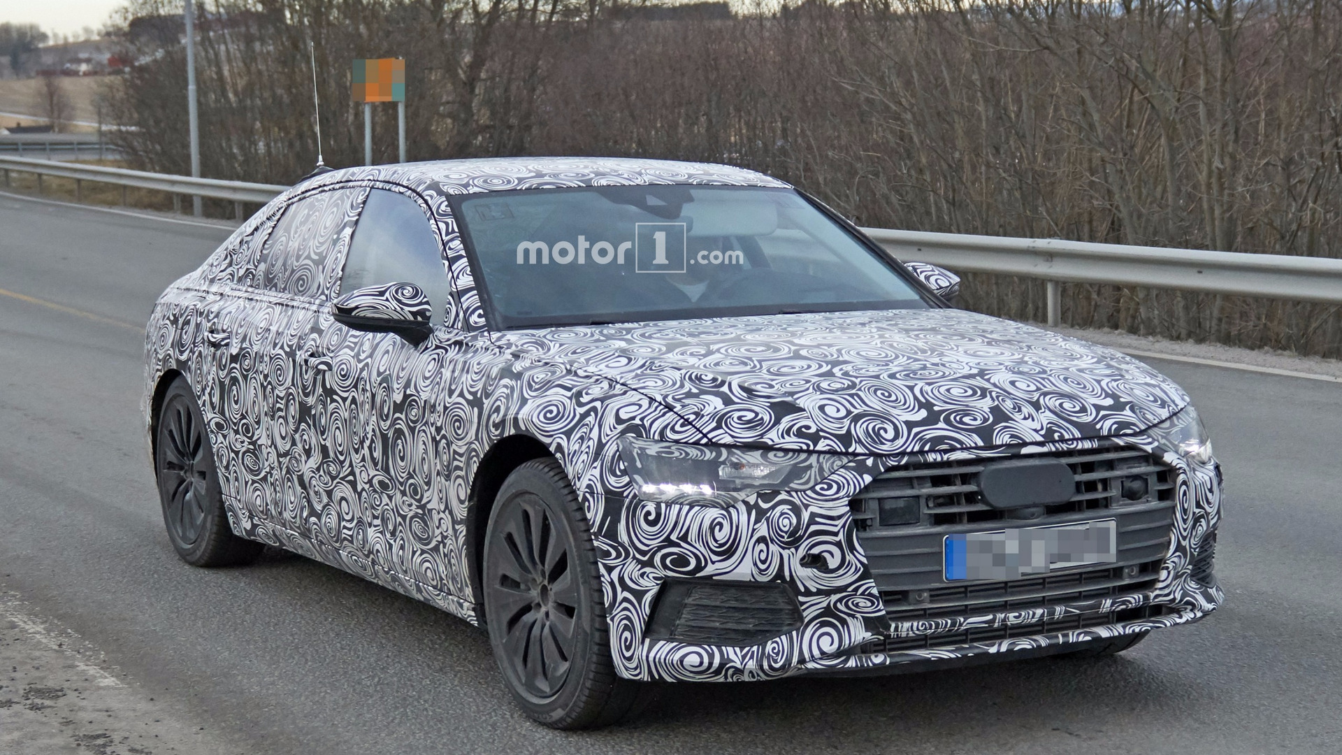 Audi A Spied For The First Time - Audi a6