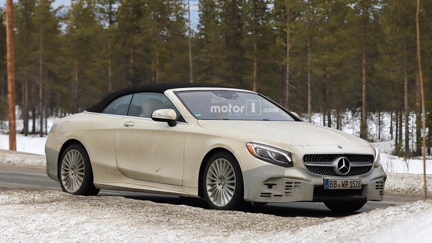 Mercedes S-Sınıfı Cabriolet'yi test ederken yakalandı