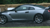 Nissan GT-R Sneak Appearance at Goodwood FOS