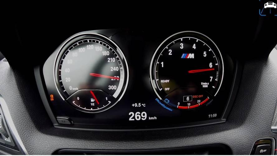 Vídeo: un BMW M2 Coupé 2018, a 269 km/h