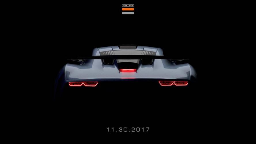 November 30-án rejtélyes sportautót mutat be az Aria