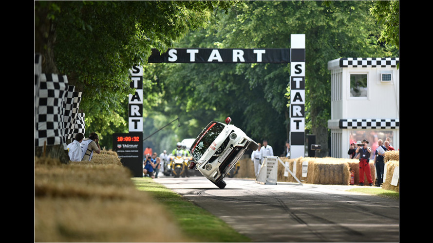 Abstruser Weltrekord in Goodwood