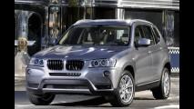 BMW X3 ganha opção de tração traseira na Europa