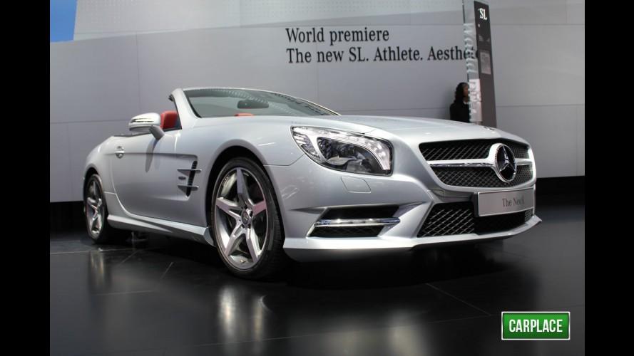 VÍDEO: Todos os detalhes do Novo Mercedes-Benz SL 2013