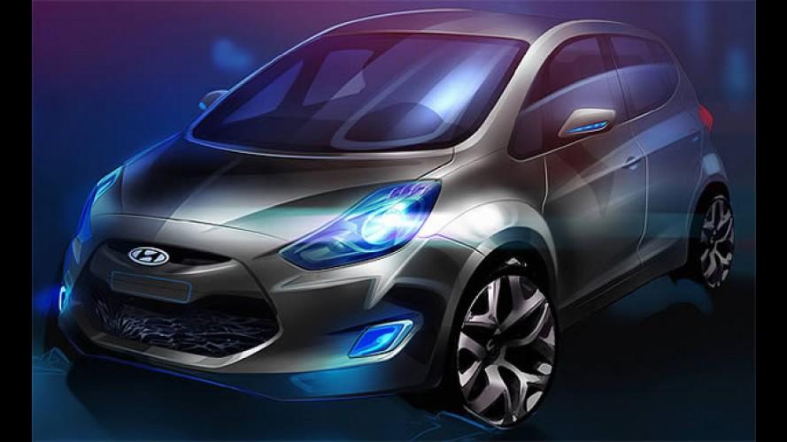 Hyundai apresentará novo compacto ix20 no Salão de Paris