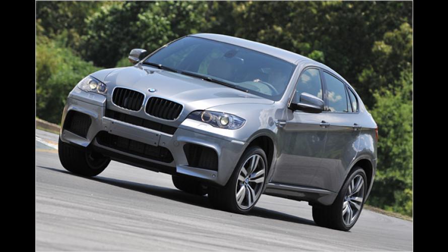 BMW X6 M: Der Geländewagen, mit dem Drifts möglich sind
