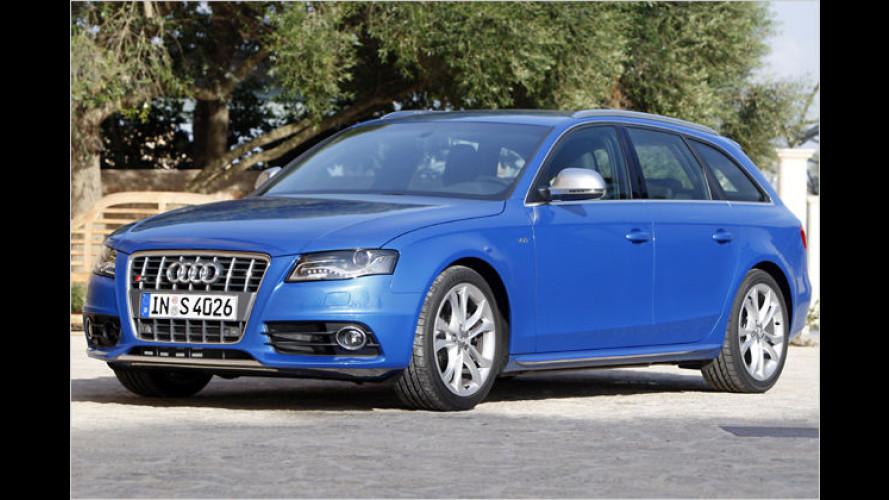 Der Super-Vierer im Test: 333 PS im neuen Audi S4 Avant