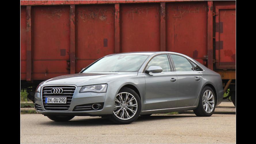 Gediegen und sportlich: Audi A8 4.2 FSI quattro im Test