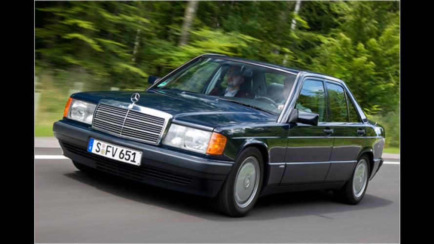 Nostalgische Dieselrakete: Mercedes zeigt speziellen 190er