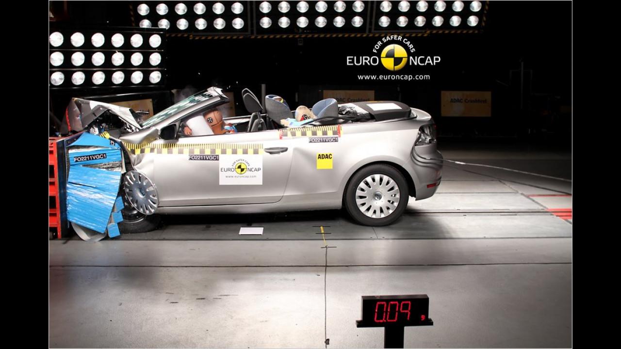 VW Golf Cabriolet 1.2 TSI, fünf Sterne