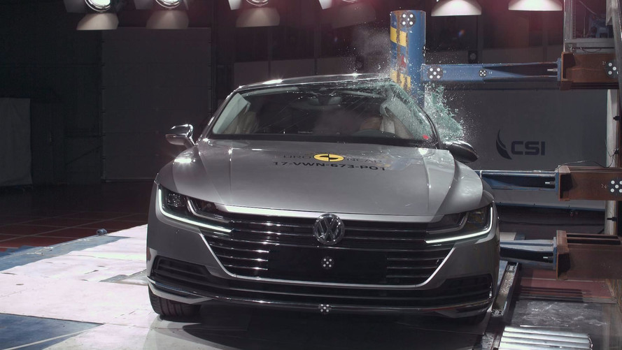 VW Arteon at Euro NCAP