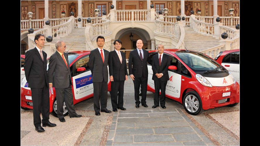 Mitsubishi i-MiEV: Elektroauto für Europa