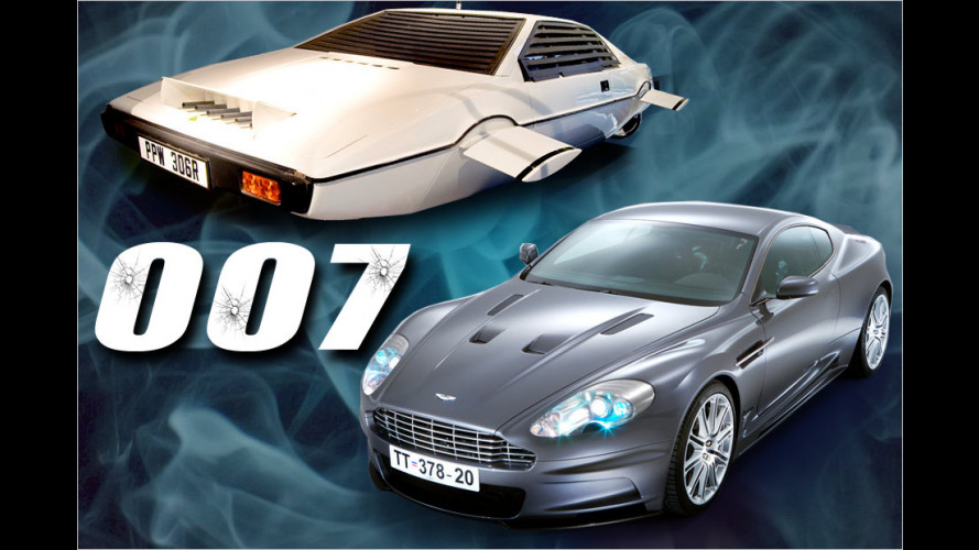 Die coolsten Fahrzeuge von James Bond