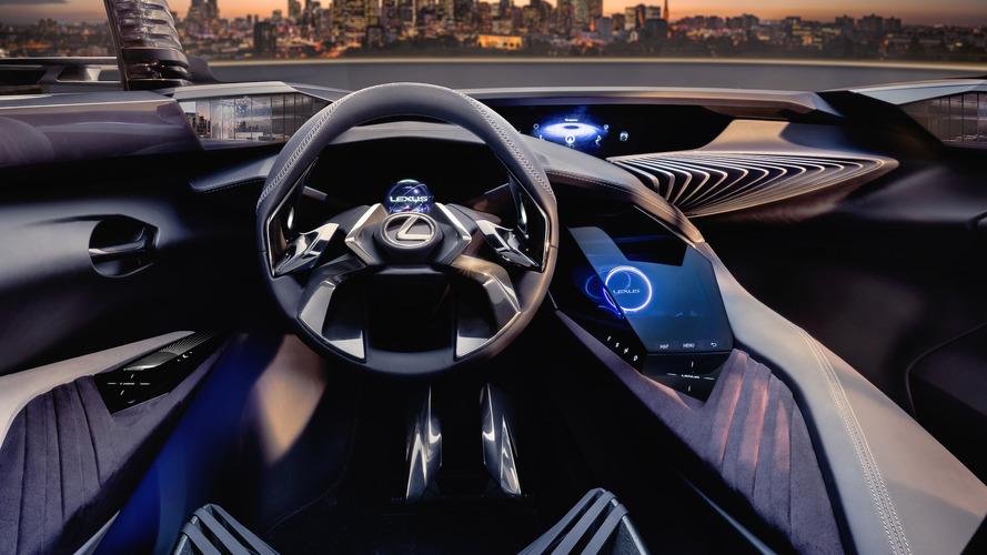 Lexus UX konseptinin 3D hologramlı iç mekanı tanıtıldı