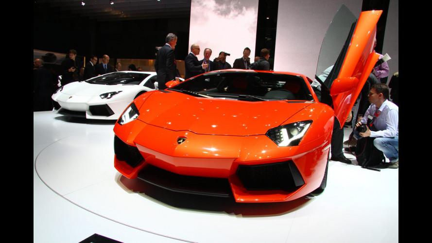 Lamborghini Aventador, già tutto esaurito