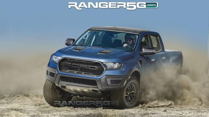 Ford Ranger Raptor - Projeções Ranger5G