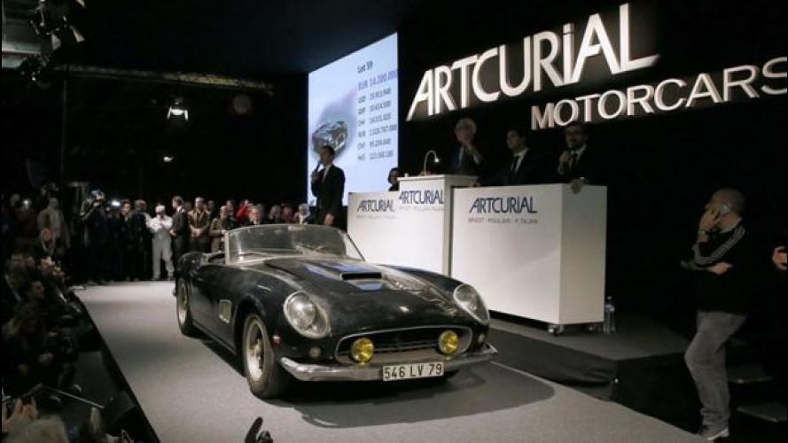 Incredibile la Ferrari di Alain Delon, da dispersa a superstar