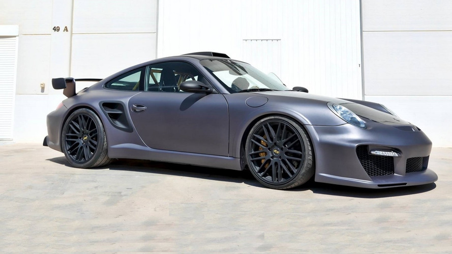 Tuner goes predator mode with wide Porsche 997
